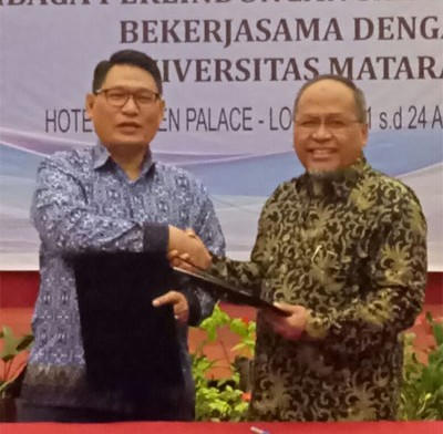 LPSK – Unram Gelar Training Of Trainer Pendamping Korban TPPO