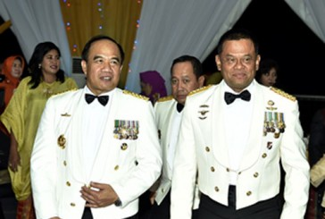 FOTO : Panglima TNI Hadiri Fleet Day Dinner HUT Armada RI ke-72