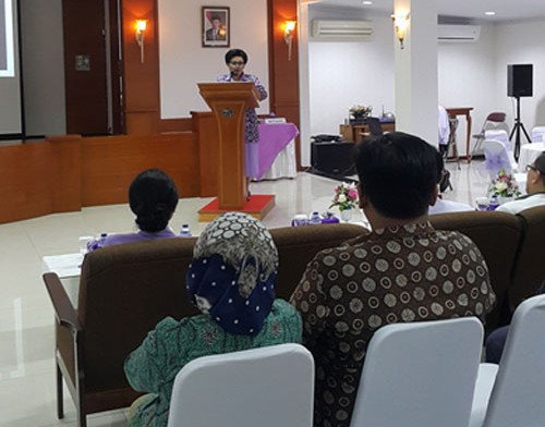 RS Patria IKKT Dukung Vision 2020 Right to Sight