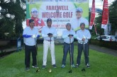 Farewell dan Welcome Golf Danlantamal VI Makassar